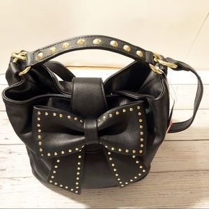 🍂Betsey Johnson Hopeless Romantic Bucket Bag NWT!